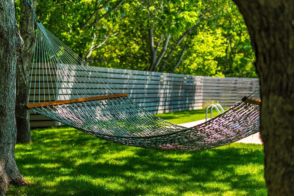 relaxing yard